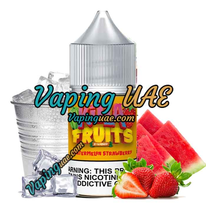 Killa Fruits Salts - Watermelon Strawberry Ice - 30ml - Vaping UAE