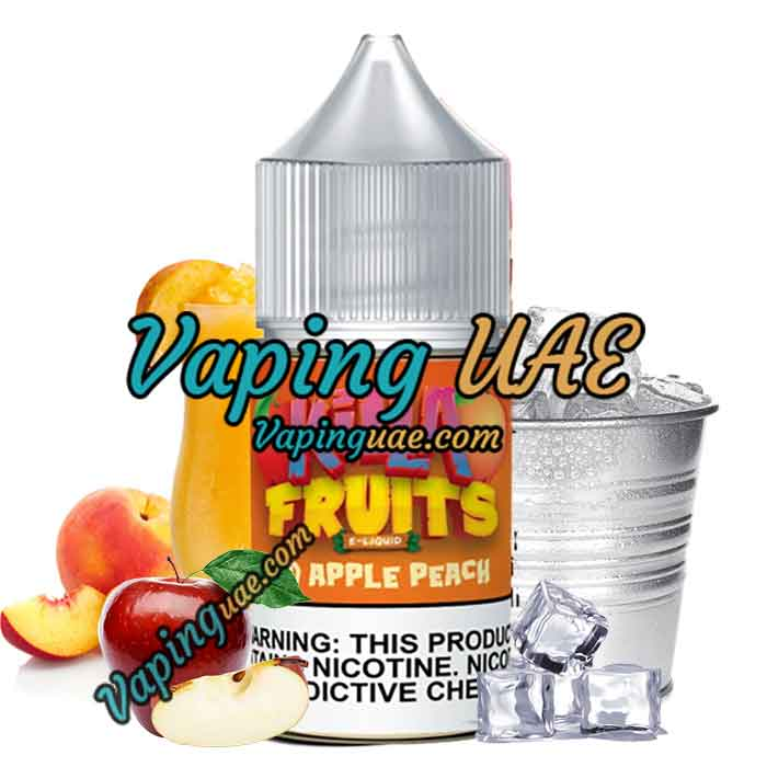 Killa Fruits Salts  Red Apple Peach Ice - 30ml Vape Juice in dubai & Abu Dhabi