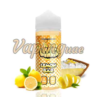 Lemon Bar E-Juice by Loaded - 120ML - Vaping UAE