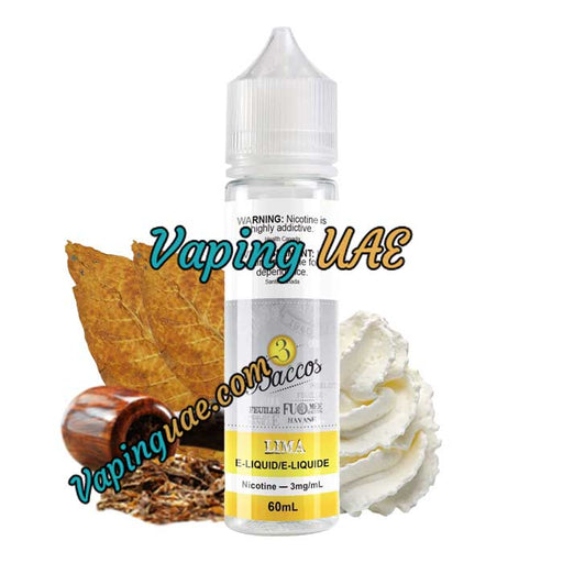 Lima - 3Baccos E-Juice - 60mL - Vaping UAE