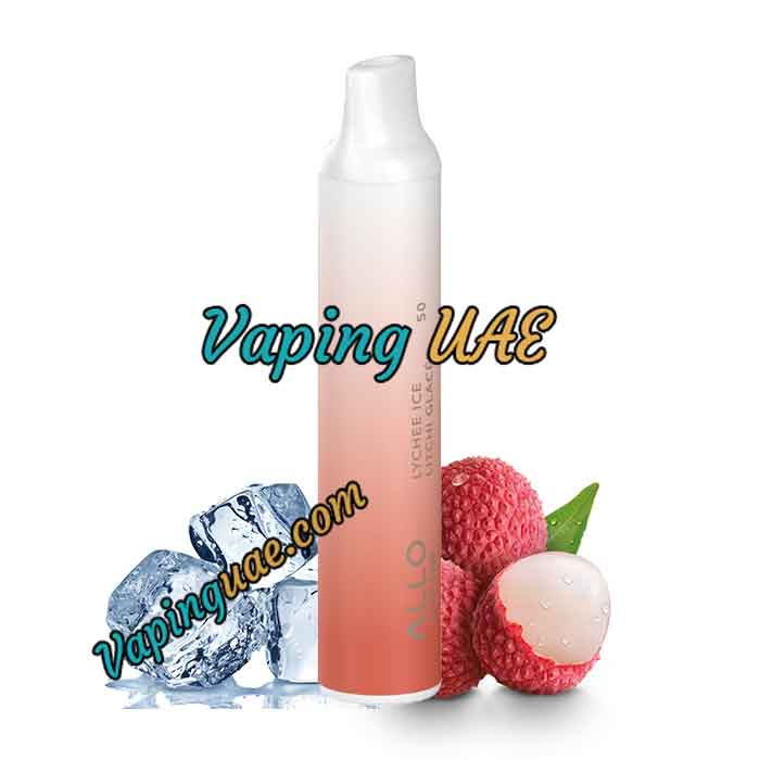 Lychee Ice Allo Disposable Vape Pod - 1500 Puffs - Vaping UAE