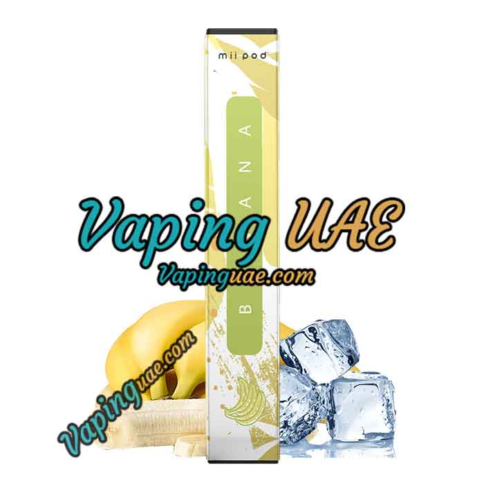 Mii Pod Banana Disposable Vape Device - Vaping UAE