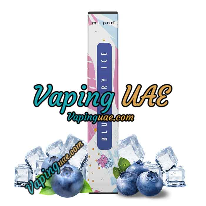 Mii Pod Blueberry Ice Disposable Vape Device - Vaping UAE