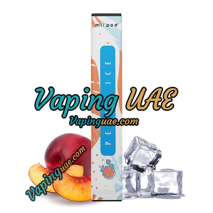Mii Pod Peach Ice Disposable Vape Device - Vaping UAE