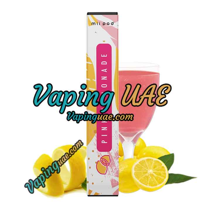 Mii Pod Pink Lemonade Disposable Vape Device - Vaping UAE
