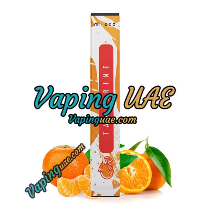 Mii Pod Tangerine Disposable Vape Device - Vaping UAE