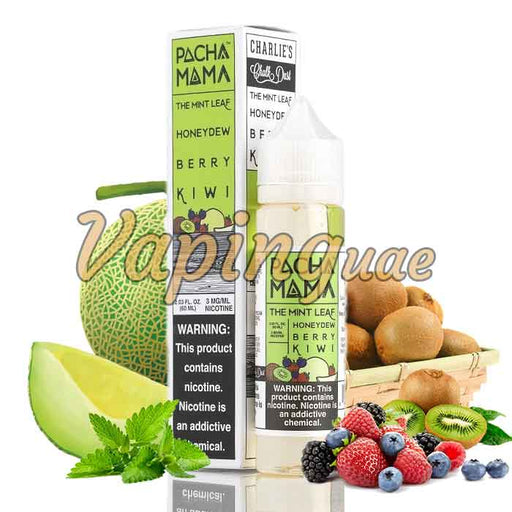 Mint Leaf Honeydew Berry Kiwi By Pachamama - Vaping UAE
