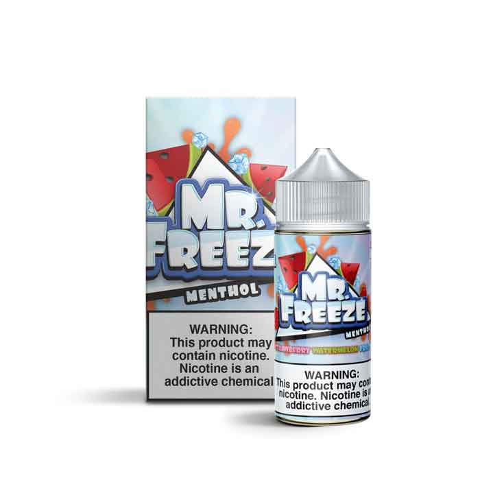 Strawberry Watermelon Frost - Mr. Freeze E Liquid - 100mL - Abu Dhabi Vape UAE