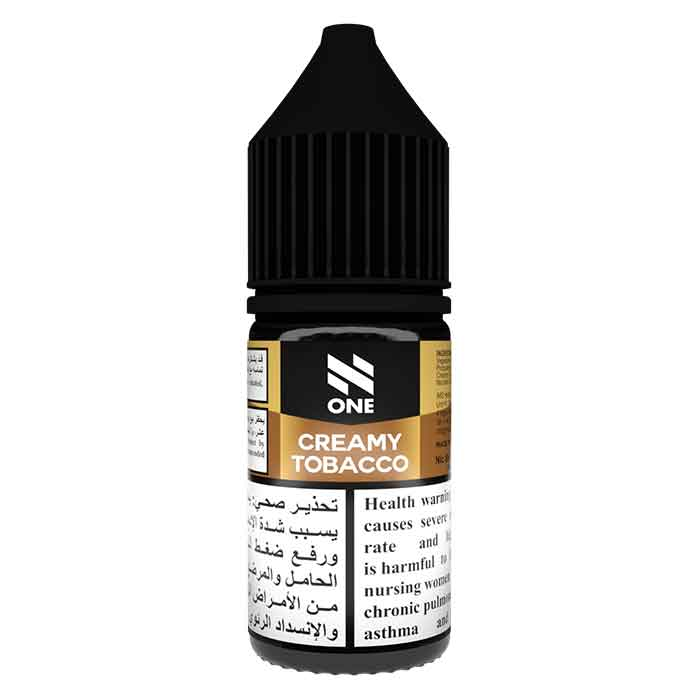N One Nicotine Salt - Creamy Tobacco - E Liquid UAE