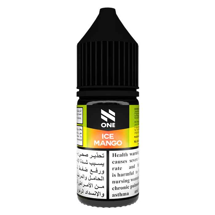 N One Nicotine Salt - Ice Mango - e Liquid UAE