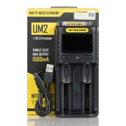 Nitecore UM2 Intelligent USB Dual-Slot Charger - Vaping UAE
