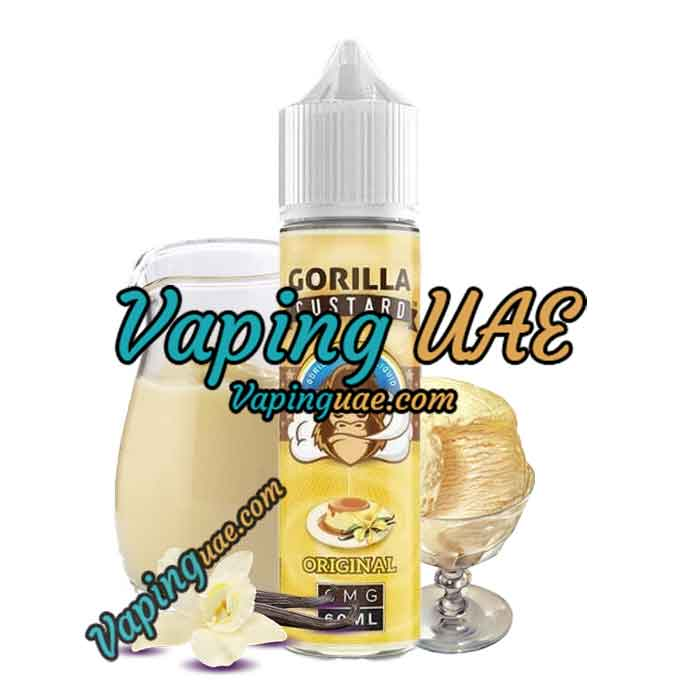 Original by Gorilla Custard E-Liquid 60mL - Shop Vape juice in abu dhabi & dubai at Vaping UAE