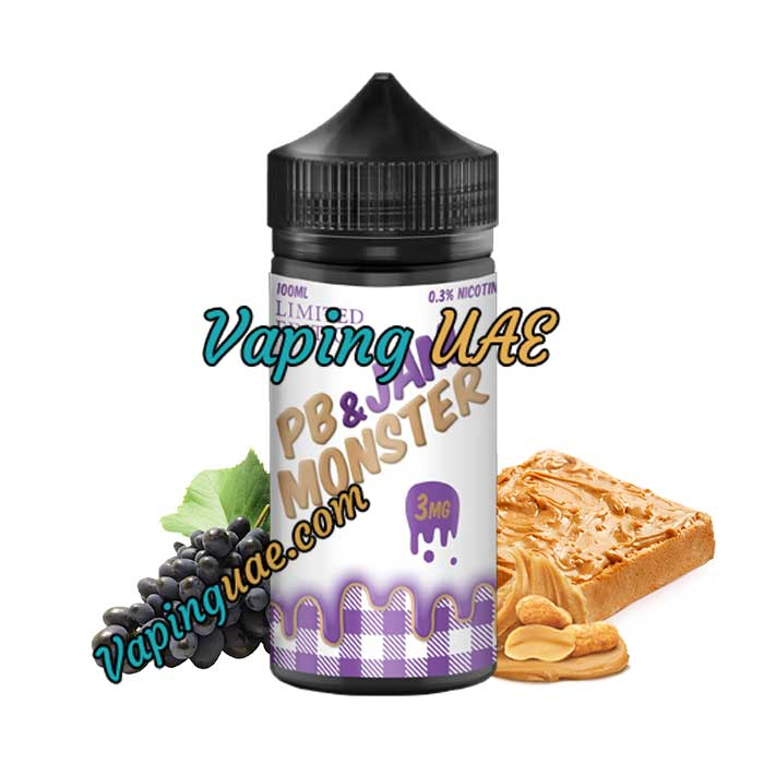 PB & Jam - Jam Monster - 100mL - Vaping UAE