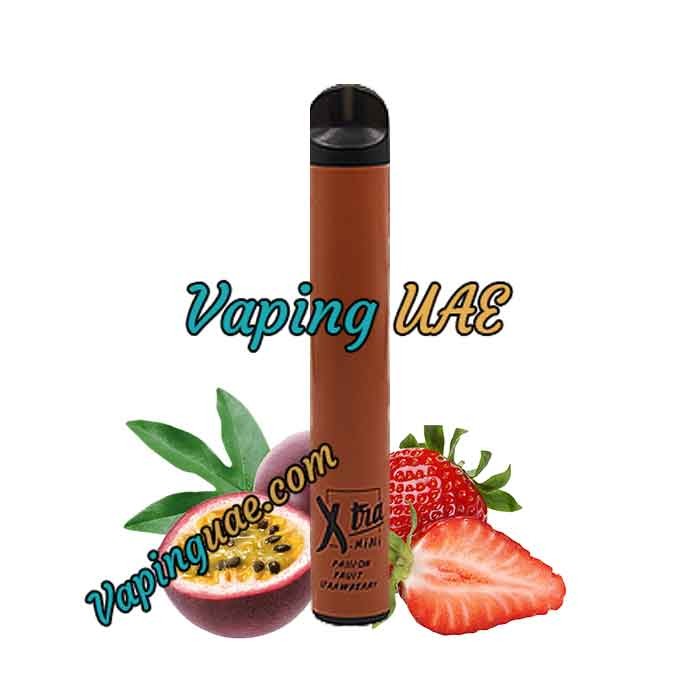 Passion Fruit Strawberry Xtra Mini Disposable Vape Pod - 800 Puffs - Vaping UAE