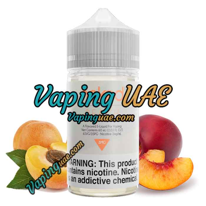 Peach E Liquid by Naked 100 Original - 60mL Vape E liquid in Abu Dhabi & Dubai - Vaping UAE