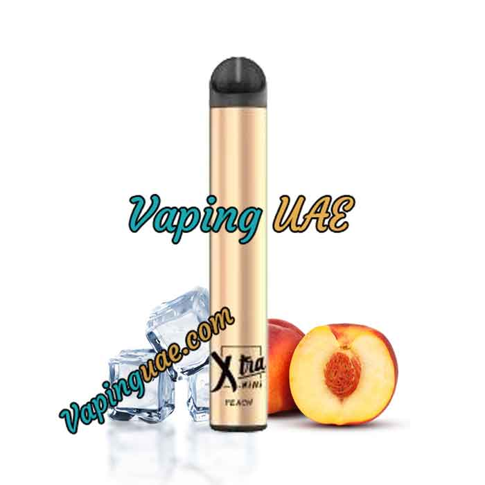 Peach Ice Xtra Mini Disposable Vape Pod - 800 Puffs - Vaping UAE