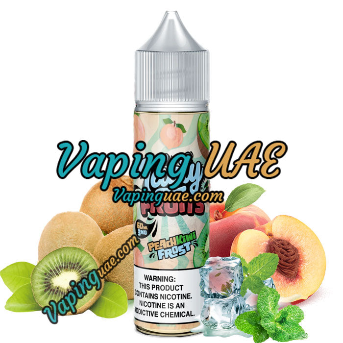 Peach Kiwi Frost - Tasty Fruits E Juice - Dubai Vape Shop - Vaping UAE