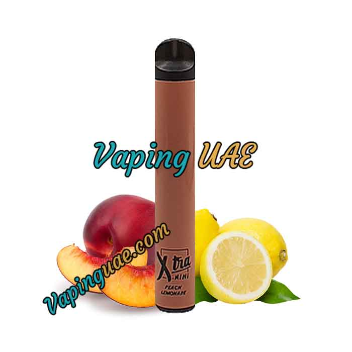 Peach Lemonade Xtra Mini Disposable Vape Pod - 800 Puffs - Vaping UAE