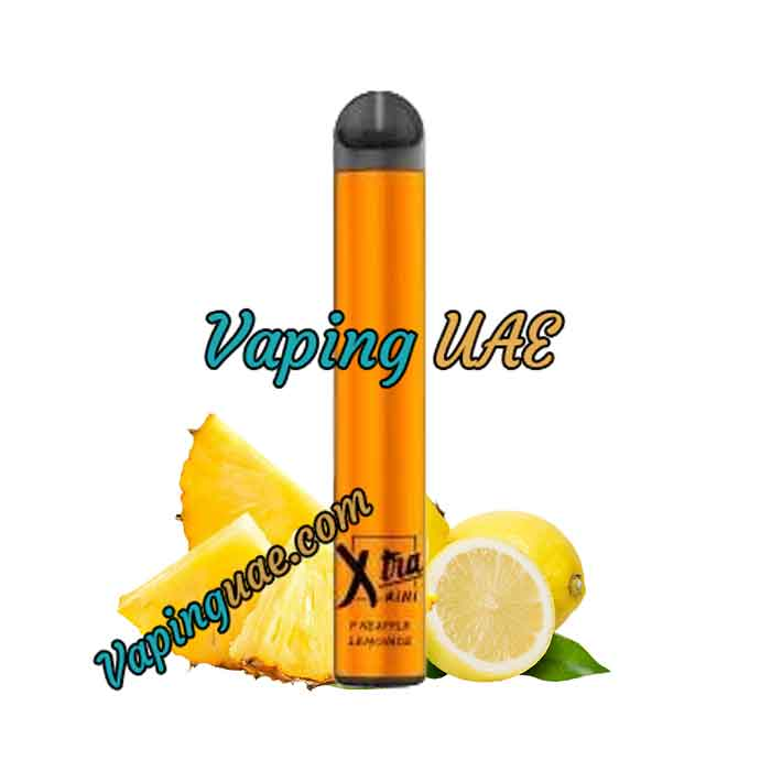Pineapple Lemonade Xtra Mini Disposable Vape Pod - 800 Puffs - Vaping UAE