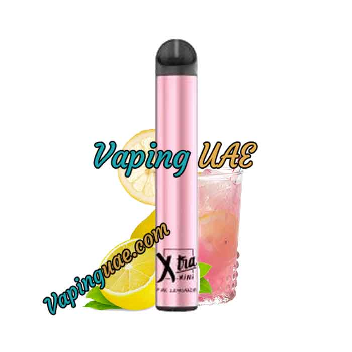 Pink Lemonade Xtra Mini Disposable Vape Pod - 800 Puffs - Vaping UAE