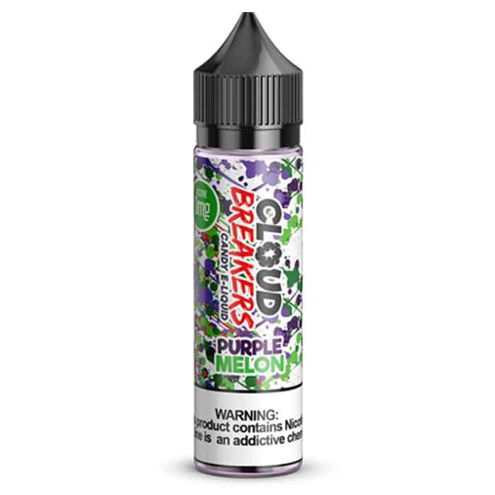Purple Melon - Cloud Breakers E Juice - 60mL - Online Vape Shop UAE
