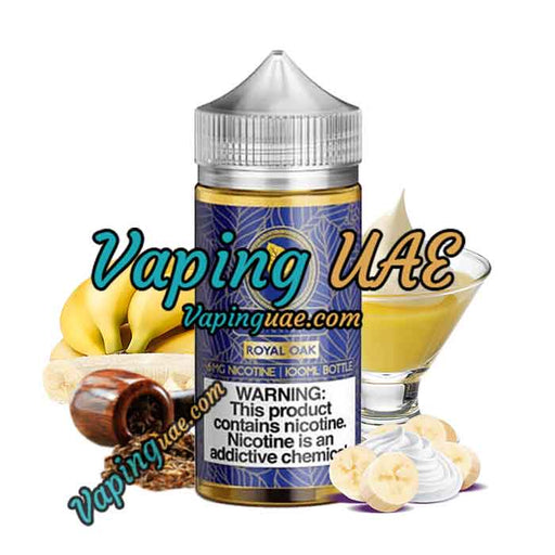 Royal Oak - Gold Leaf E Liquid - 100mL - Abu Dhabi Vapors - Vaping UAE
