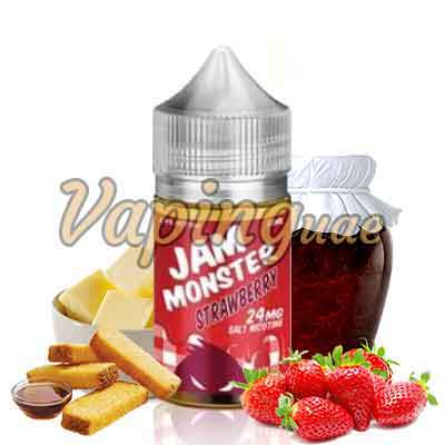 Strawberry By Jam Monster - Vaping UAE