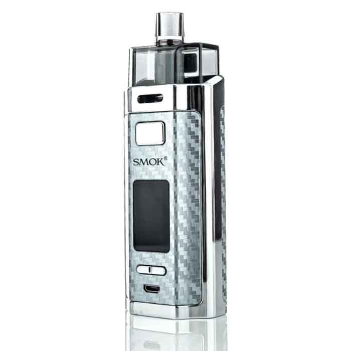 Silver Carbon Fiber SMOK RPM160 Pod Mod Kit - Vaping UAE