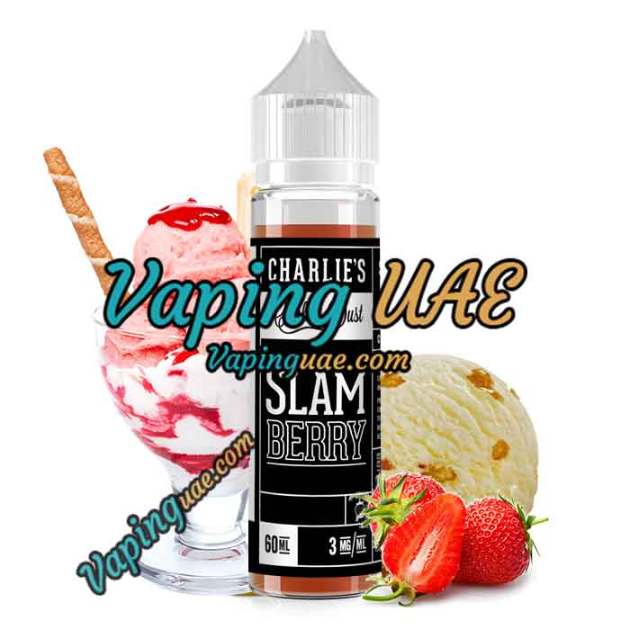 Slam Berry - Charlie's Chalk Dust E Juice - 60mL - Vaping UAE - فيب الامارات