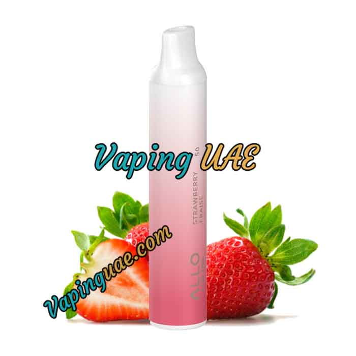 Strawberry Allo Disposable Vape Pod - 1500 Puffs - Vaping UAE