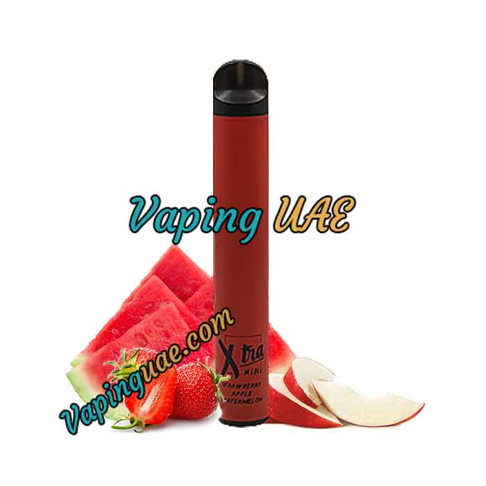 Strawberry Apple Watermelon Xtra Mini Disposable Vape Pod - 800 Puffs - Vaping UAE