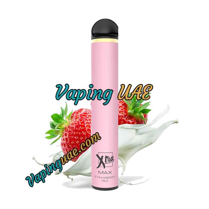 Strawberry Milk Xtra MAX Disposable Vape Pod - 2500 Puffs - Vaping UAE