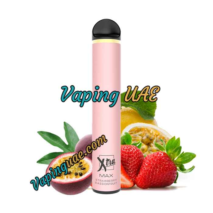 Strawberry Passion Fruit Xtra MAX Disposable Vape Pod - 2500 Puffs - Vaping UAE