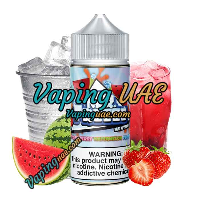 Strawberry Watermelon Frost - Mr. Freeze E Liquid - 100mL - Vaping UAE