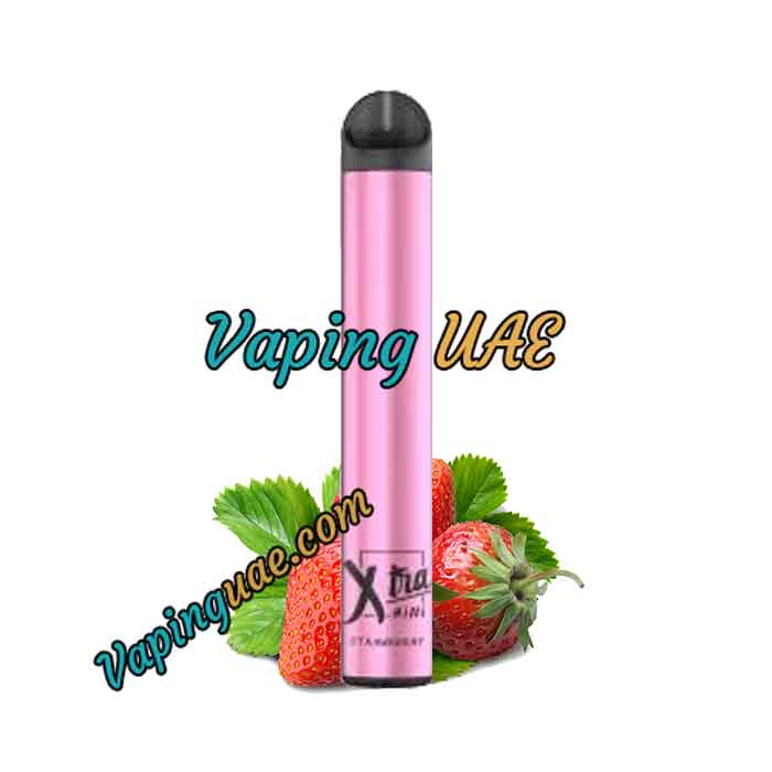 Strawberry Xtra Mini Disposable Vape Pod - 800 Puffs - Vaping UAE