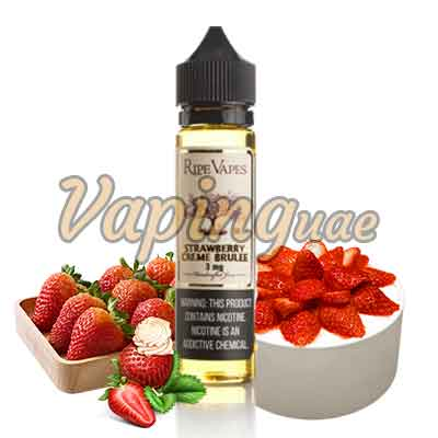 Strawberry Crème Brulée E Juice By Ripe Vape - Vaping UAE