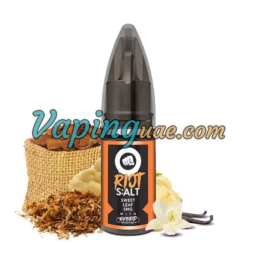 Sweet Leaf Hybrid Salt By Riot Squad - Vaping UAE