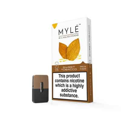 Authentic MYLE Replacement Flavor Pods