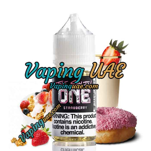The Salty One Strawberry by Beard Vape Co. - Vape Shop in Abu Dhabi - Vaping UAE