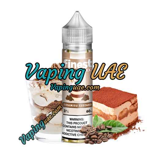 Tiramisu Custard - Finest E-Liquid - Signature Edition - Vaping UAE