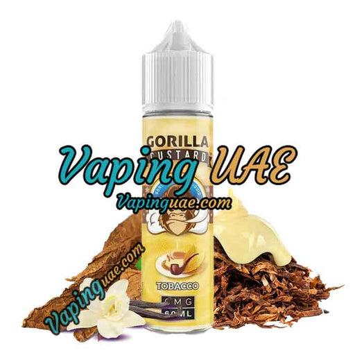 Tobacco by Gorilla Custard E-Liquid - 60mL - Shop you favorite vape juice at Vaping UAE