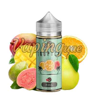 Tropical POG By Juice Roll Upz - 100ML - Vaping UAE