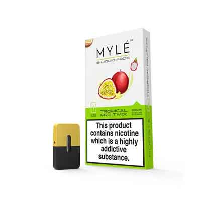 Tropical Fruit Mix Vape Pods by MYLE