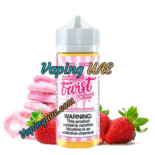 Twist Strawberry Dipped - Ruthless Vapors - 120mL - Vaping UAE