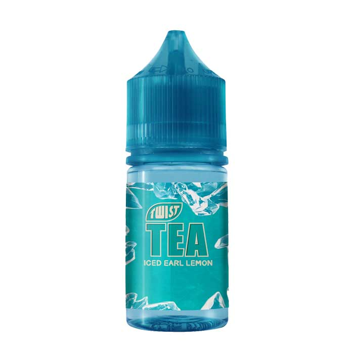 Twist Tea Salt Nic - Iced Earl Lemon - 30mL - Vaping UAE