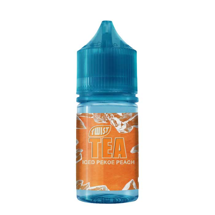 Twist Tea Salt Nic - Iced Pekoe Peach - 30mL - Vaping UAE