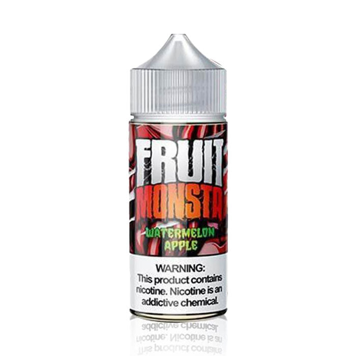 Watermelon Apple - Fruit Monsta E Liquid - 100mL - Vaping UAE - Abu Dhabi online Vape Shop