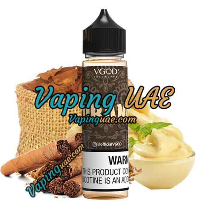 VGOD Cubano E Juice - 60ml - Vaping UAE - Vape Shop Dubai