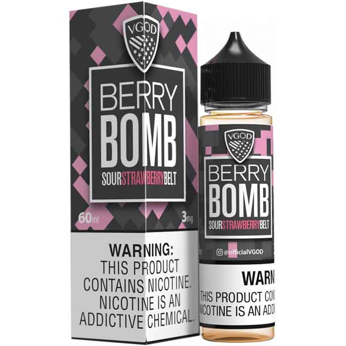 VGOD Berry Bomb E Juice - 60mL - Vaping UAE - Abu Dhabi Online Vape E Juice Shop