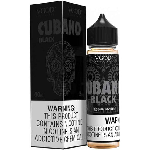 VGOD Cubano Black E Juice - 60ml - Buy VGOD Vape E Juice - Vaping UAE
